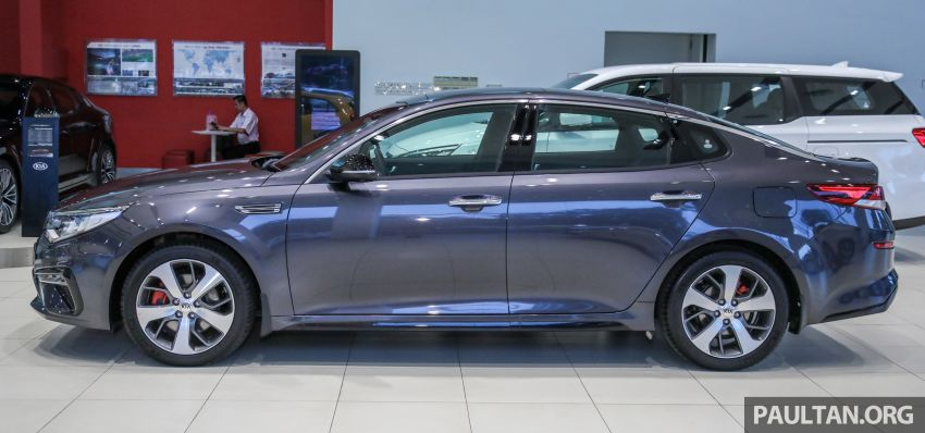 2019 Kia Optima facelift arrives in Malaysia – NA and turbo engines listed; GT variant; from RM169,888 Image #879660