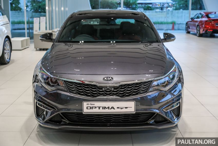 2019 Kia Optima facelift arrives in Malaysia – NA and turbo engines listed; GT variant; from RM169,888 Image #879661