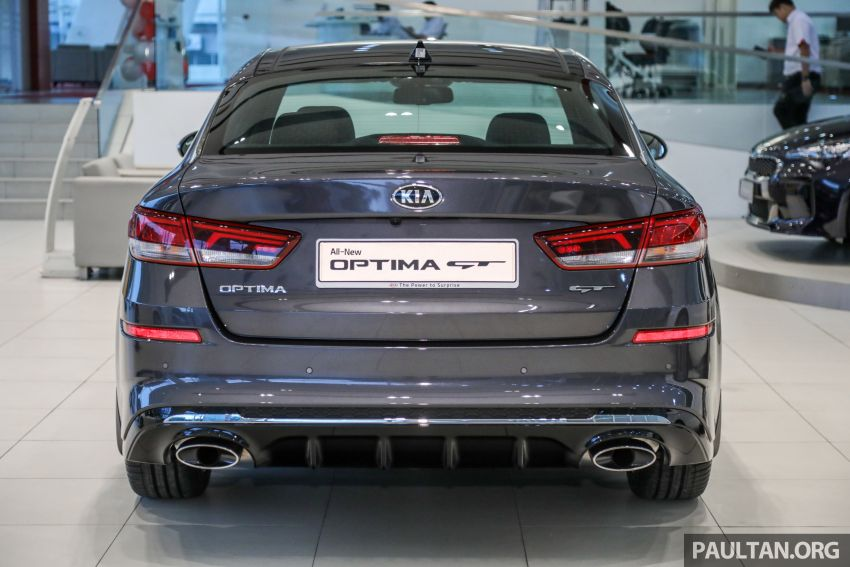 2019 Kia Optima facelift arrives in Malaysia – NA and turbo engines listed; GT variant; from RM169,888 Image #879662