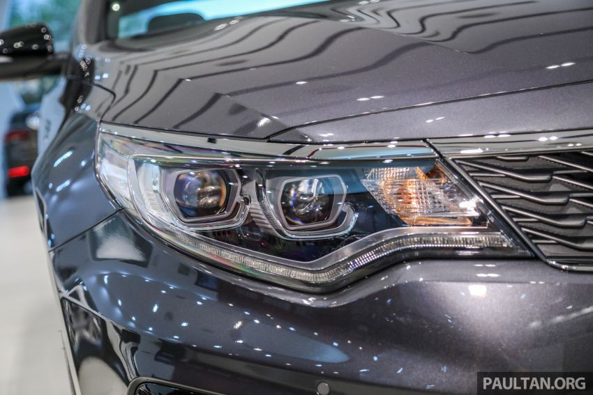 2019 Kia Optima facelift arrives in Malaysia – NA and turbo engines listed; GT variant; from RM169,888 Image #879664