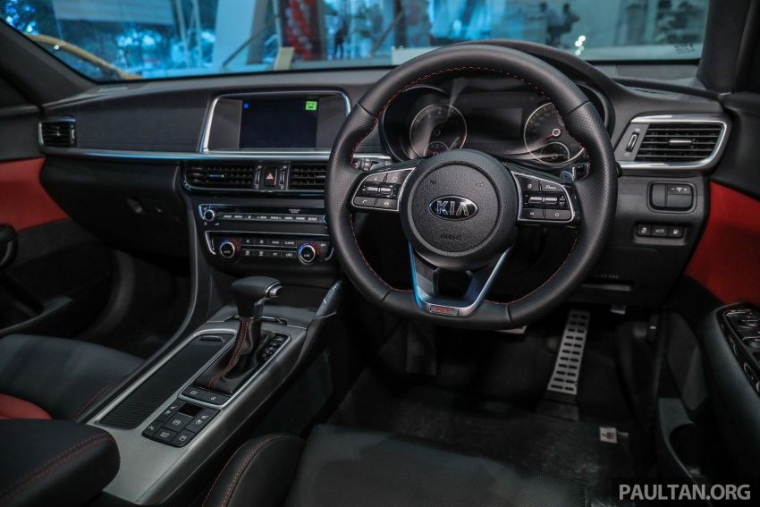 2019 Kia Optima facelift arrives in Malaysia – NA and turbo engines listed; GT variant; from RM169,888 Image #879704