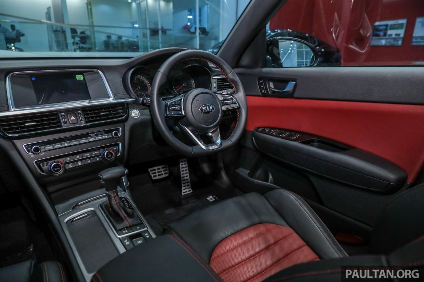 2019 Kia Optima facelift arrives in Malaysia – NA and turbo engines listed; GT variant; from RM169,888 Image #879705