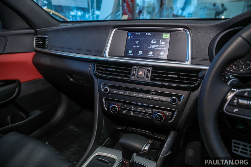 2019 Kia Optima facelift arrives in Malaysia – NA and turbo engines listed; GT variant; from RM169,888 Image #879693