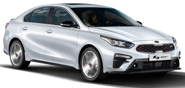 Kia Cerato Gt Sedan Revealed With 204 Ps 1 6l Turbo Paultan Org