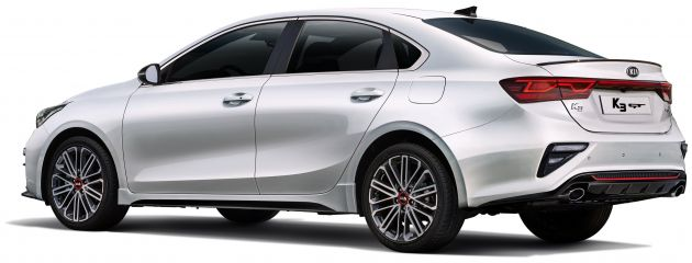 Kia Cerato GT sedan revealed with 204 PS 1 6L turbo
