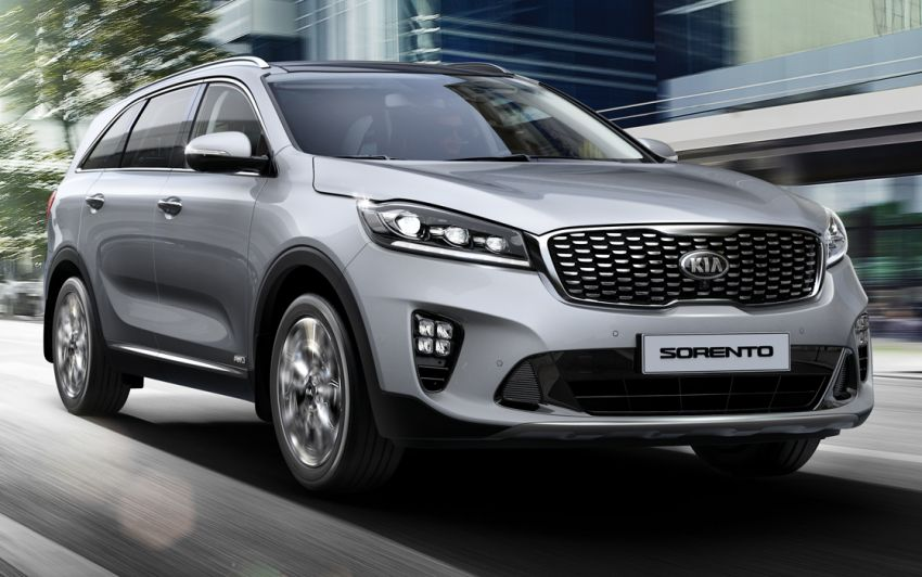 2019 Kia Sorento facelift on website – from RM170k Image #880398
