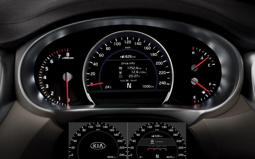 2019 Kia Sorento facelift on website – from RM170k Image #880410