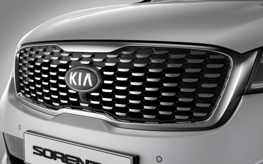 2019 Kia Sorento facelift on website – from RM170k Image #880402