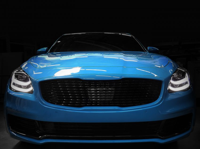 Bespoke Kia Stinger GT and K900 to debut at SEMA Image #880269