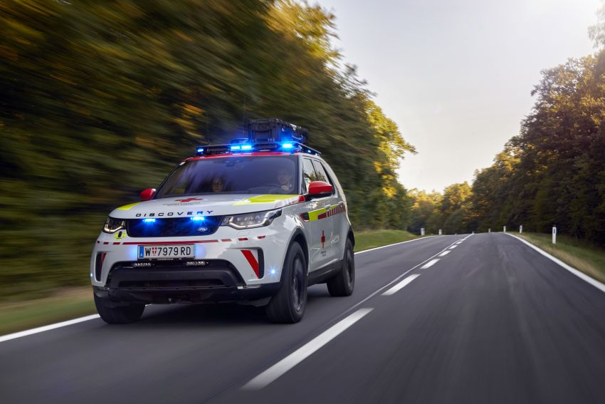 Land Rover SVO debuts bespoke Red Cross Discovery Image #867923