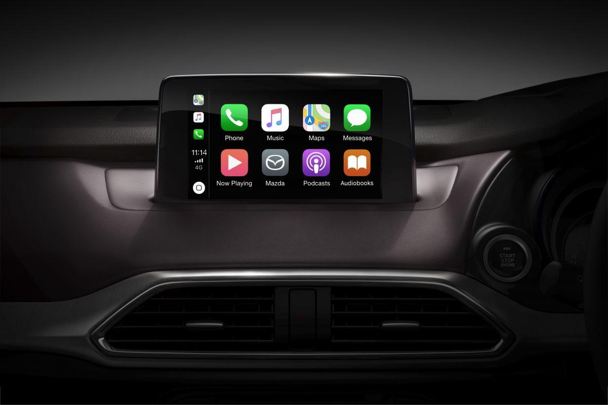mazda 39 s android auto apple carplay retrofit will cost. Black Bedroom Furniture Sets. Home Design Ideas