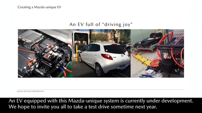 Mazda Technology Briefing 2018 – rotary engine in EVs detailed; next-gen Mazda 3 to debut in November? Image #873007