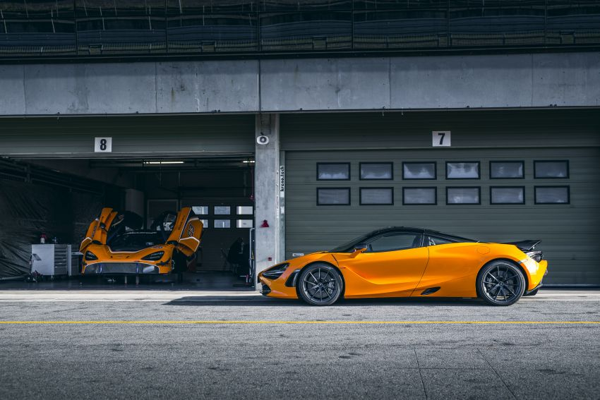 McLaren 720S now available with optional Track Pack Image #869901