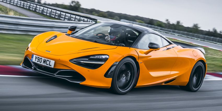 McLaren 720S now available with optional Track Pack Image #869905