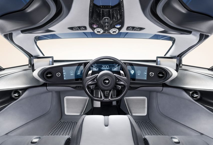 McLaren Speedtail unveiled – 1,050 PS, 403 km/h top speed, 0-300 km/h in 12.8 seconds, limited to 106 units Image #880122