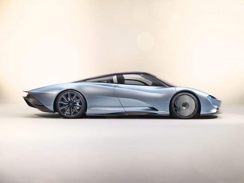 McLaren Speedtail unveiled – 1,050 PS, 403 km/h top speed, 0-300 km/h in 12.8 seconds, limited to 106 units Image #880126