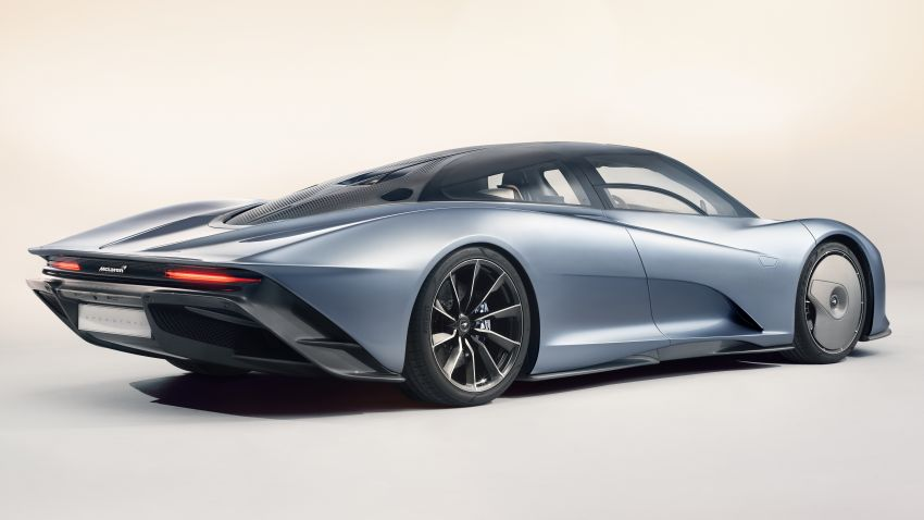 McLaren Speedtail unveiled – 1,050 PS, 403 km/h top speed, 0-300 km/h in 12.8 seconds, limited to 106 units Image #880139