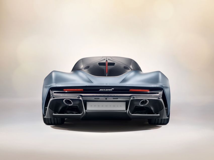 McLaren Speedtail unveiled – 1,050 PS, 403 km/h top speed, 0-300 km/h in 12.8 seconds, limited to 106 units Image #880128