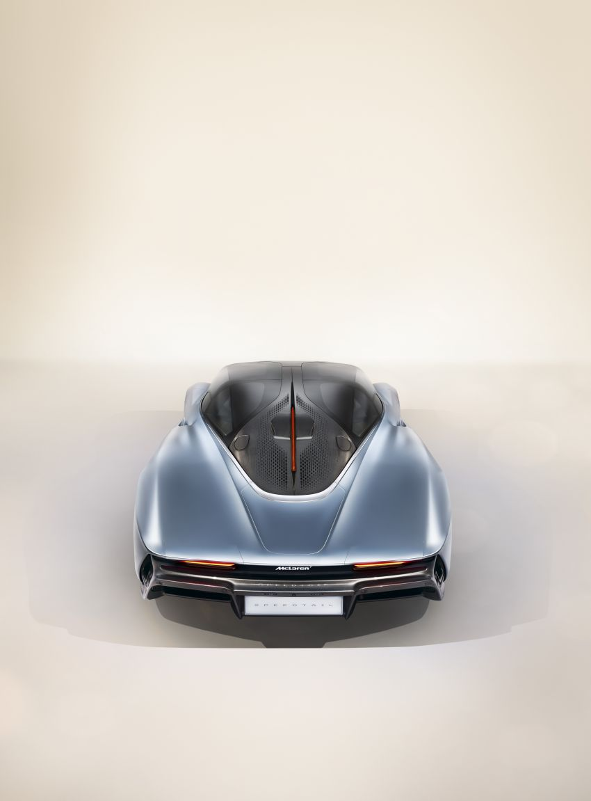 McLaren Speedtail unveiled – 1,050 PS, 403 km/h top speed, 0-300 km/h in 12.8 seconds, limited to 106 units Image #880129
