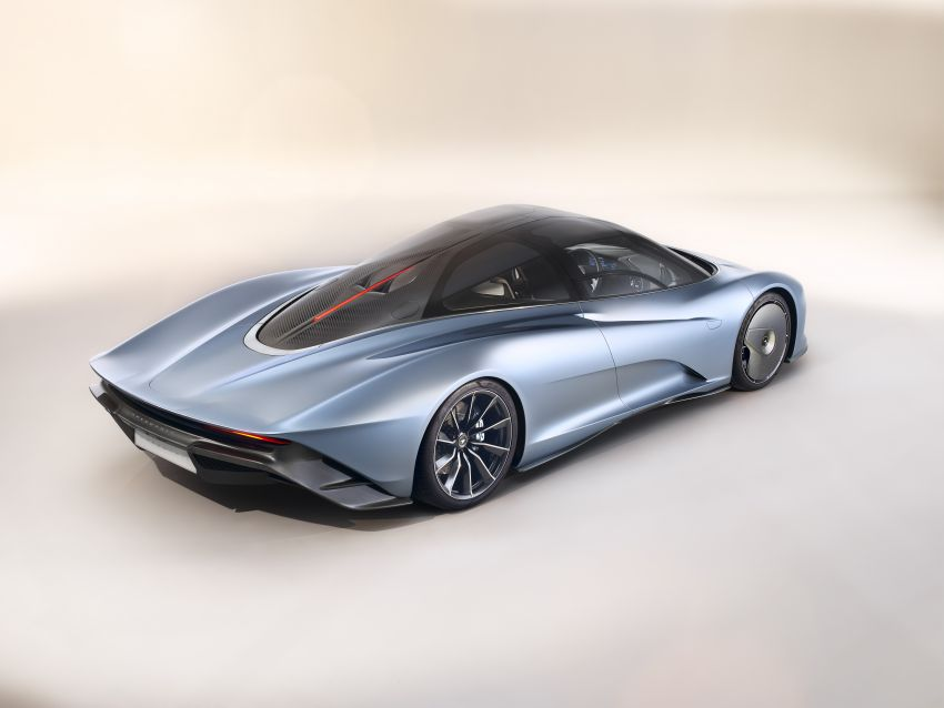 McLaren Speedtail unveiled – 1,050 PS, 403 km/h top speed, 0-300 km/h in 12.8 seconds, limited to 106 units Image #880132