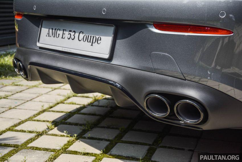 Mercedes-AMG E53 4Matic+ dipertonton di Malaysia Image #871059