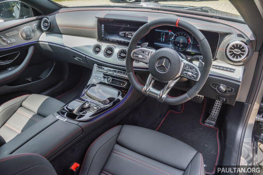 Mercedes-AMG E53 4Matic+ dipertonton di Malaysia Image #871062