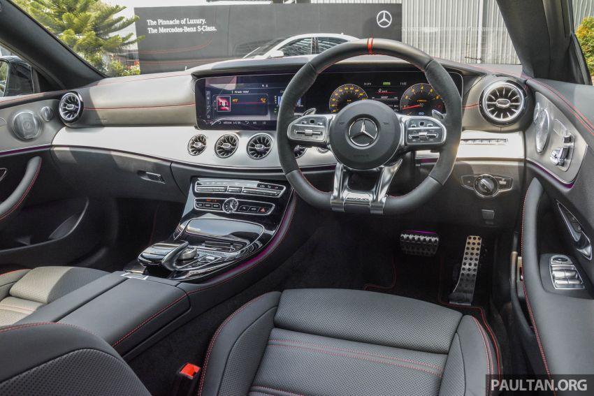Mercedes-AMG E53 4Matic+ dipertonton di Malaysia Image #871064