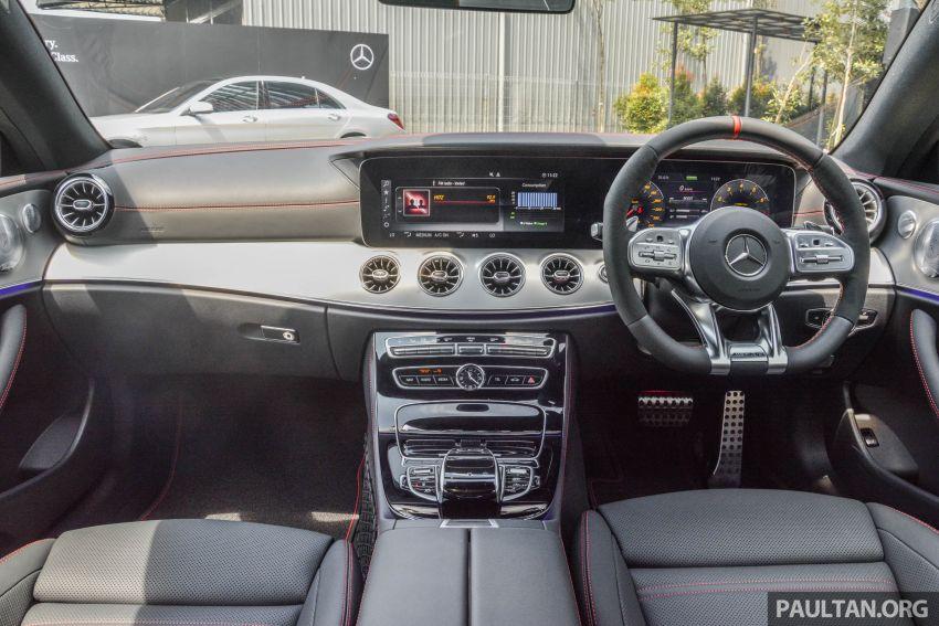 Mercedes-AMG E53 4Matic+ dipertonton di Malaysia Image #871068