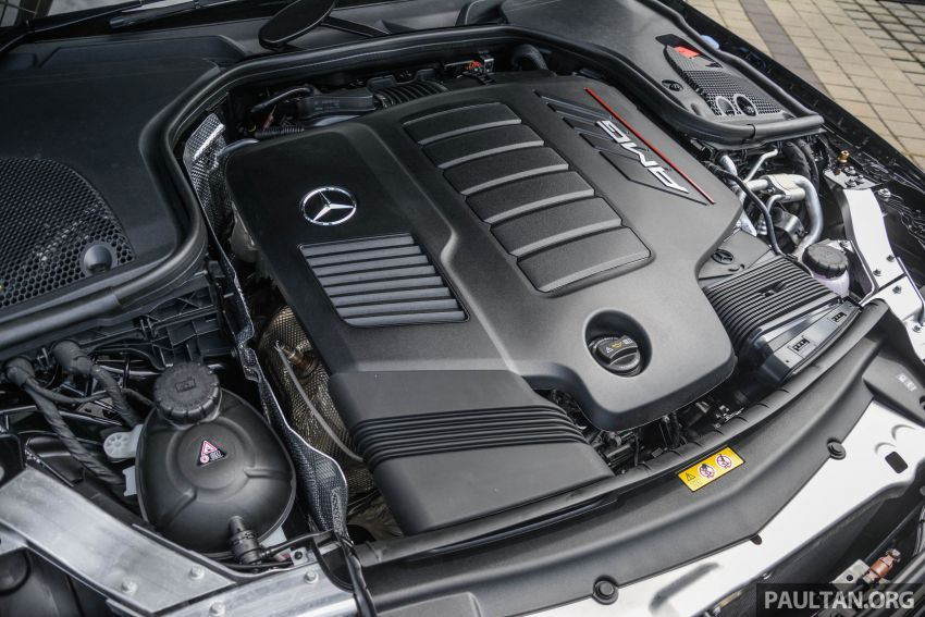 Mercedes-AMG E53 4Matic+ dipertonton di Malaysia Image #871009
