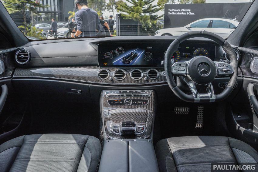 Mercedes-AMG E53 4Matic+ dipertonton di Malaysia Image #871013