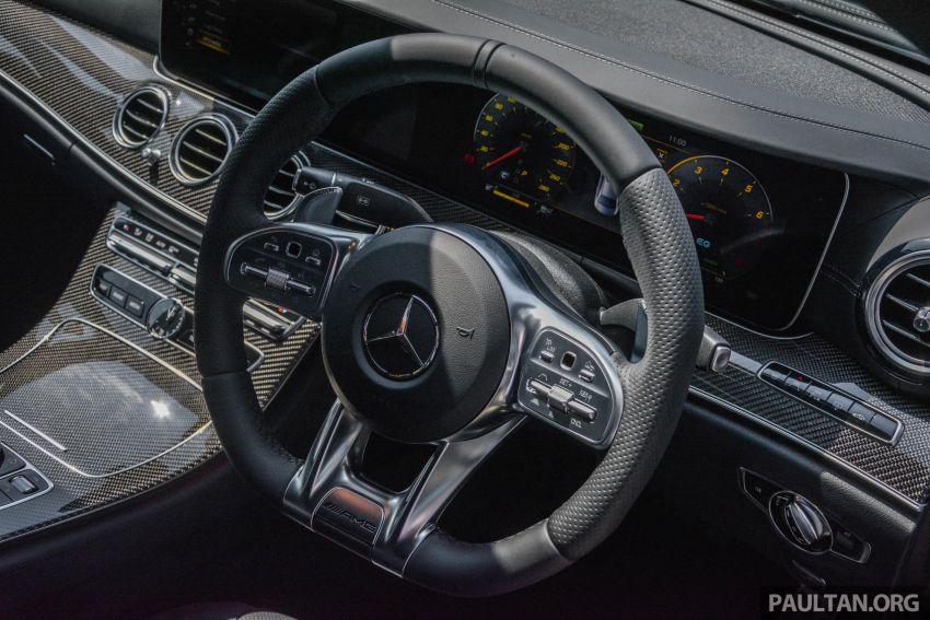 Mercedes-AMG E53 4Matic+ dipertonton di Malaysia Image #871015