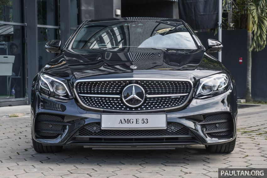 Mercedes-AMG E53 4Matic+ dipertonton di Malaysia Image #870994