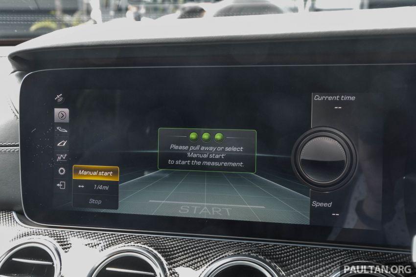 Mercedes-AMG E53 4Matic+ dipertonton di Malaysia Image #871022