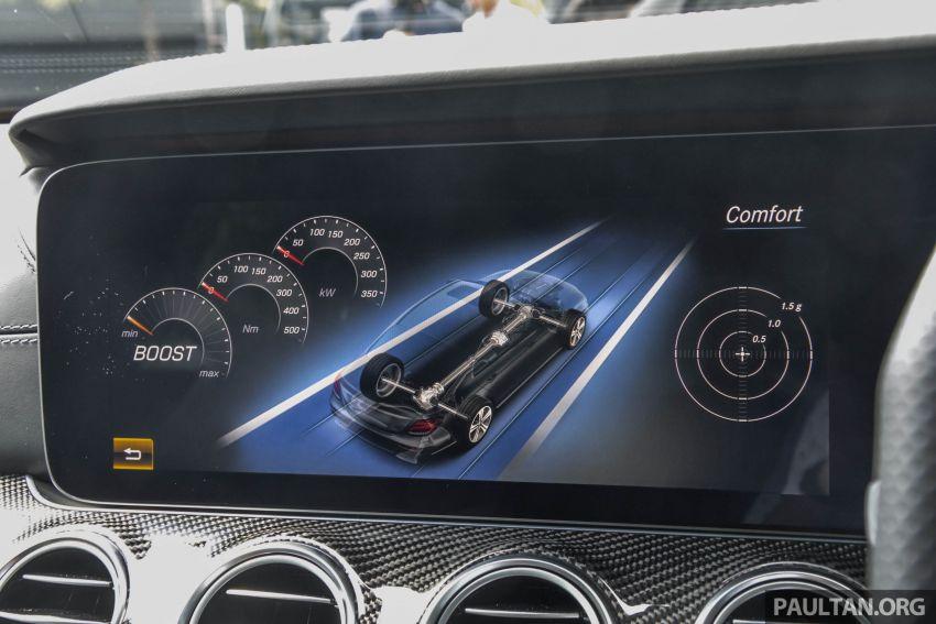 Mercedes-AMG E53 4Matic+ dipertonton di Malaysia Image #871023