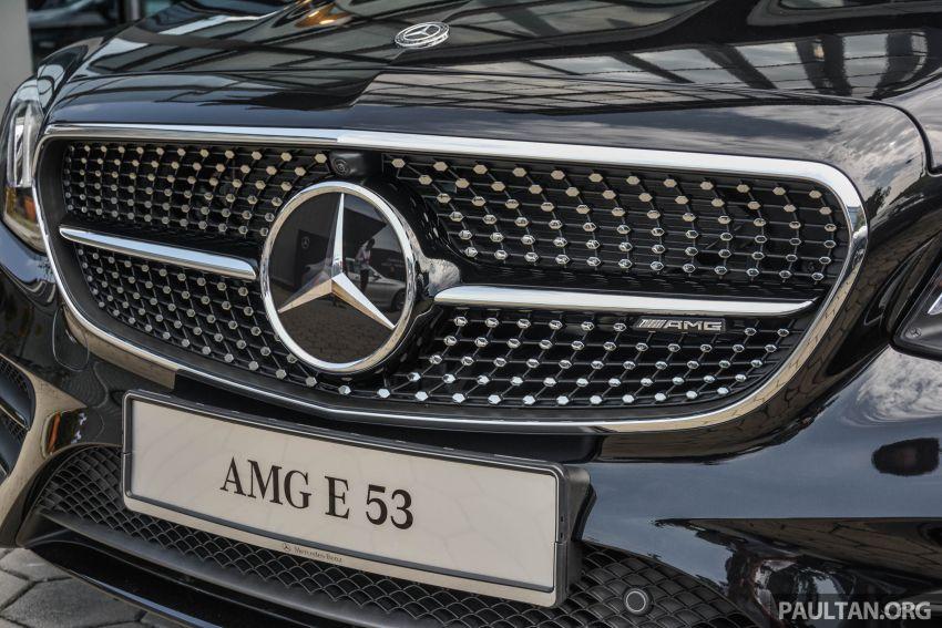 Mercedes-AMG E53 4Matic+ dipertonton di Malaysia Image #870999