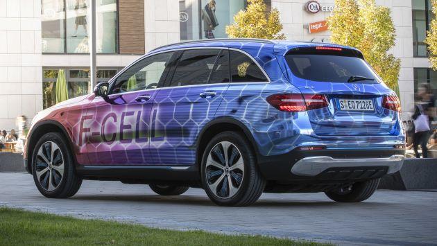 Mercedes-Benz GLC F-Cell – production plug-in hybrid hydrogen SUV