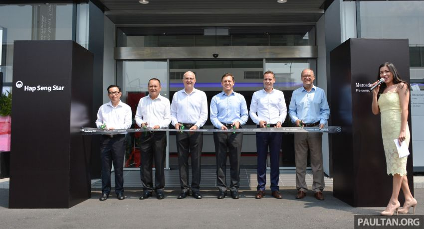 Mercedes-Benz Malaysia introduces new Certified pre-owned programme and Hap Seng Star Kinrara facility Image #866467