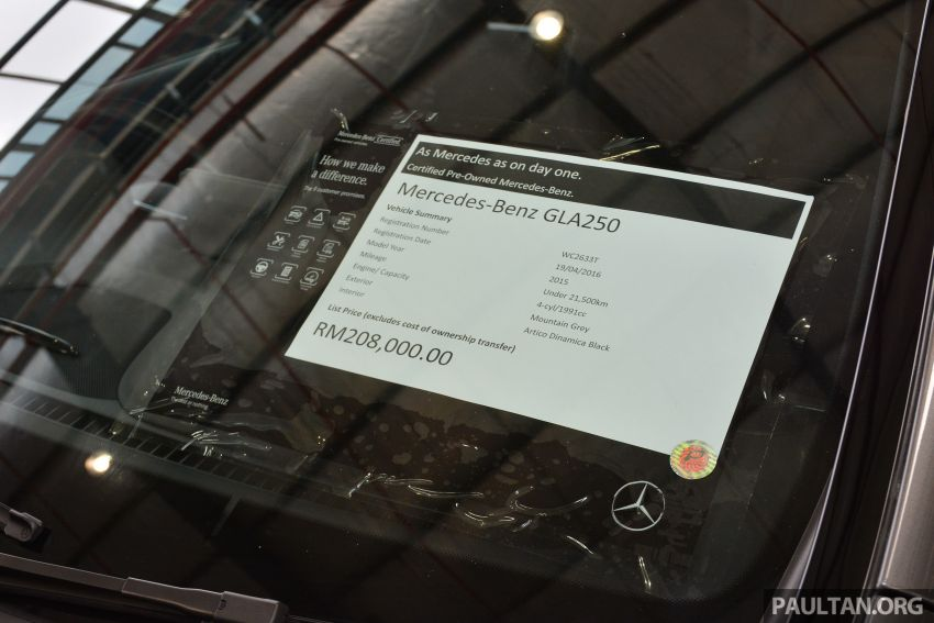 Mercedes-Benz Malaysia introduces new Certified pre-owned programme and Hap Seng Star Kinrara facility Image #866476