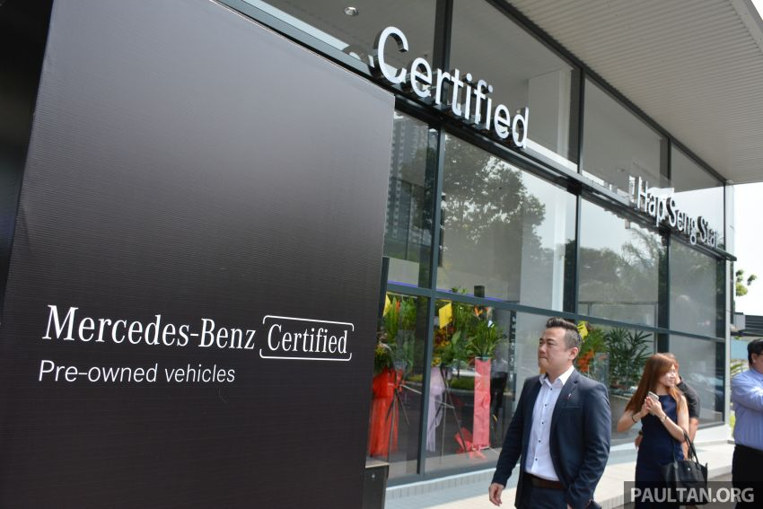 Mercedes-Benz Malaysia introduces new Certified pre-owned programme and Hap Seng Star Kinrara facility Image #866468