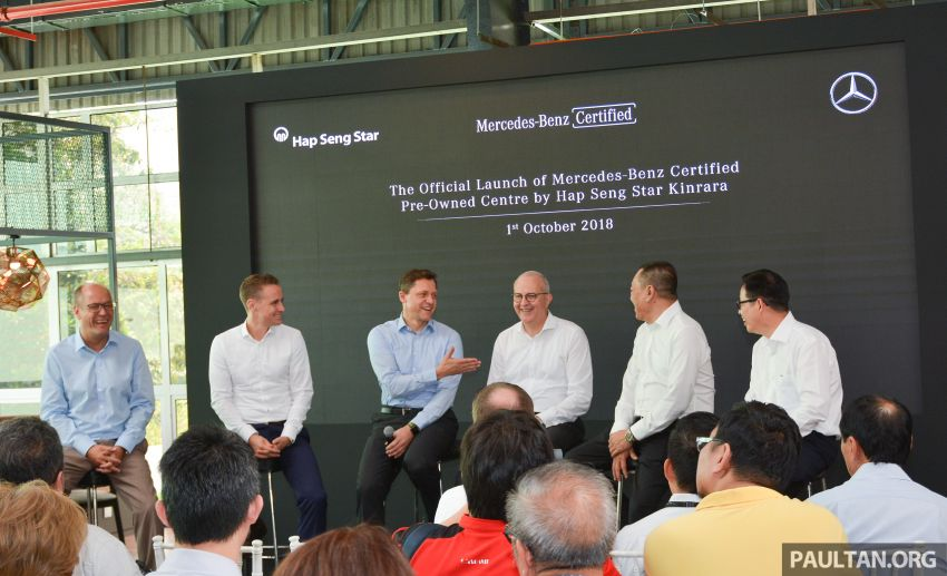 Mercedes-Benz Malaysia introduces new Certified pre-owned programme and Hap Seng Star Kinrara facility Image #866487