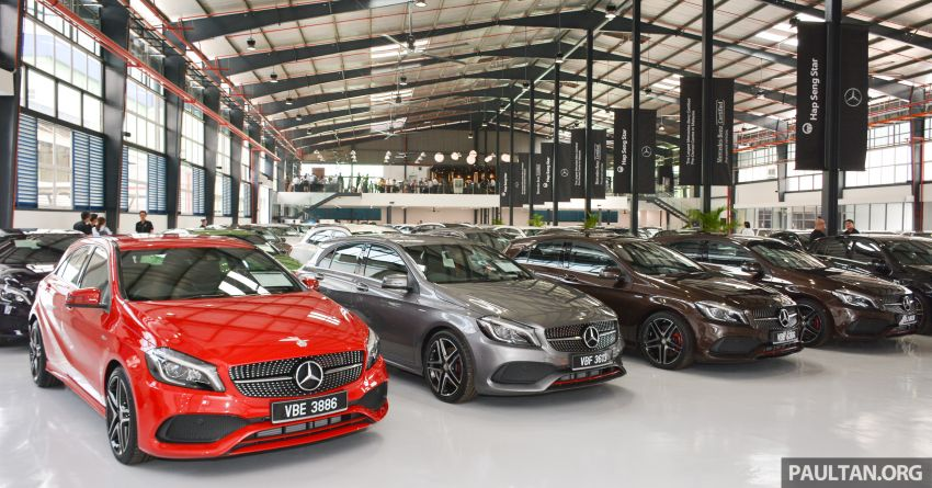 Mercedes-Benz Malaysia introduces new Certified pre-owned programme and Hap Seng Star Kinrara facility Image #866507