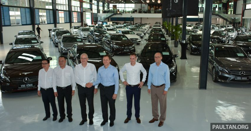 Mercedes-Benz Malaysia introduces new Certified pre-owned programme and Hap Seng Star Kinrara facility Image #866471