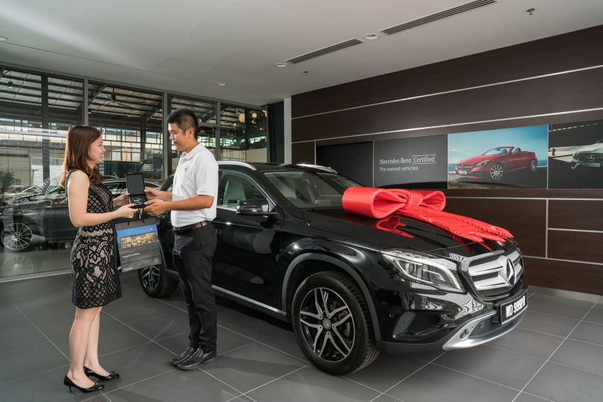 Mercedes-Benz Malaysia introduces new Certified pre-owned programme and Hap Seng Star Kinrara facility Image #866521