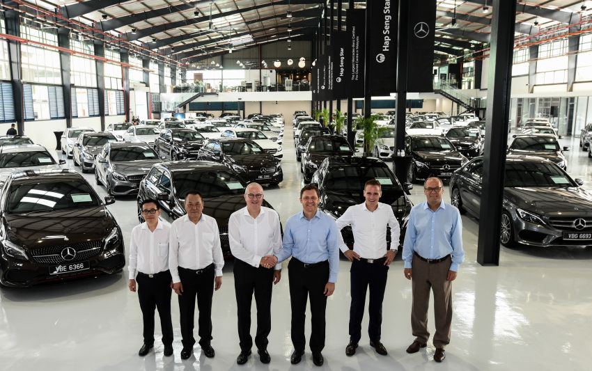 Mercedes-Benz Malaysia introduces new Certified pre-owned programme and Hap Seng Star Kinrara facility Image #866543