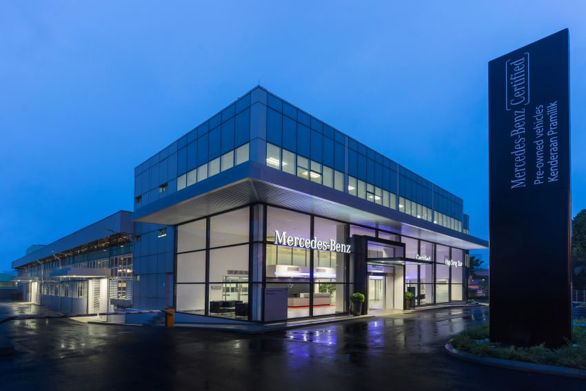 Mercedes-Benz Malaysia introduces new Certified pre-owned programme and Hap Seng Star Kinrara facility Image #866516