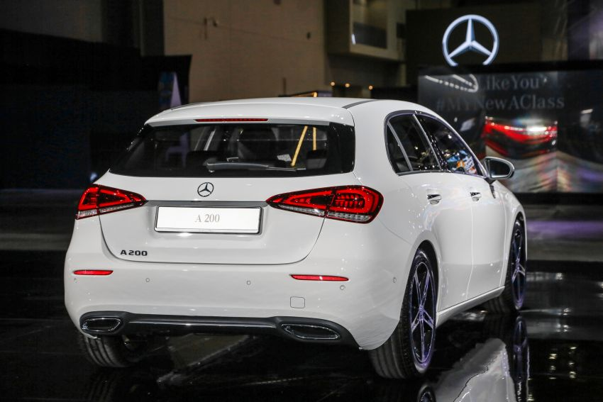 W177 Mercedes-Benz A-Class launched in Malaysia – A200 Progressive Line, A250 AMG Line, from RM228k Image #874882