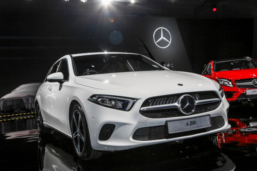 Mercedes Benz A Class >> W177 Mercedes-Benz A-Class launched in Malaysia – A200 ...