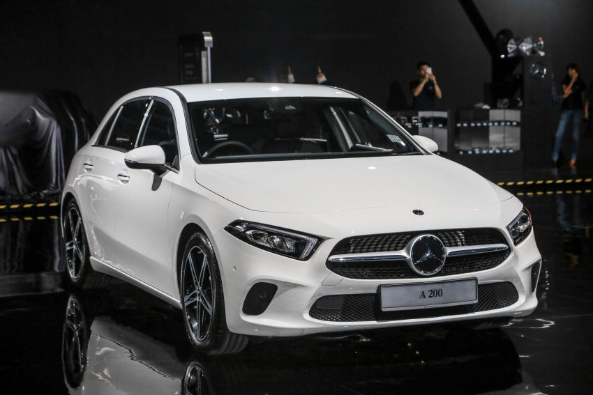 W177 Mercedes-Benz A-Class launched in Malaysia – A200 Progressive Line, A250 AMG Line, from RM228k Image #874874