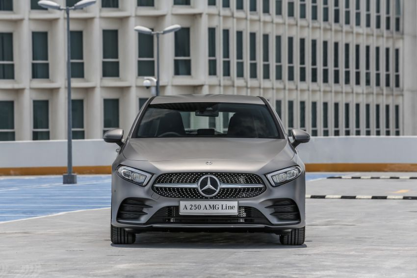 W177 Mercedes-Benz A-Class launched in Malaysia – A200 Progressive Line, A250 AMG Line, from RM228k Image #874749