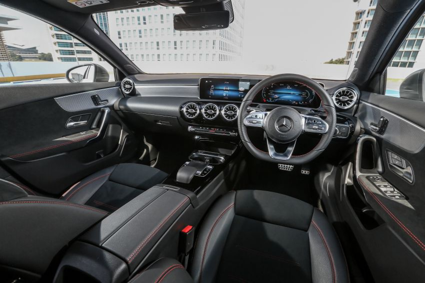 W177 Mercedes-Benz A-Class launched in Malaysia – A200 Progressive Line, A250 AMG Line, from RM228k Image #874761